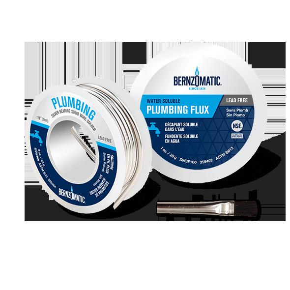 Solder Brazing Rods Amp Flux Plumbing Tools