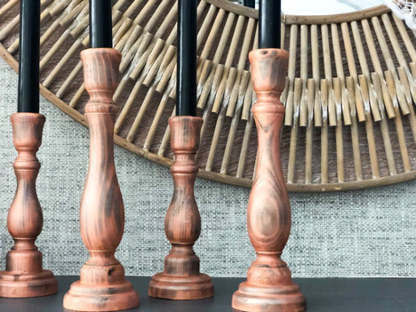 Eclectic Candle Stick Holders