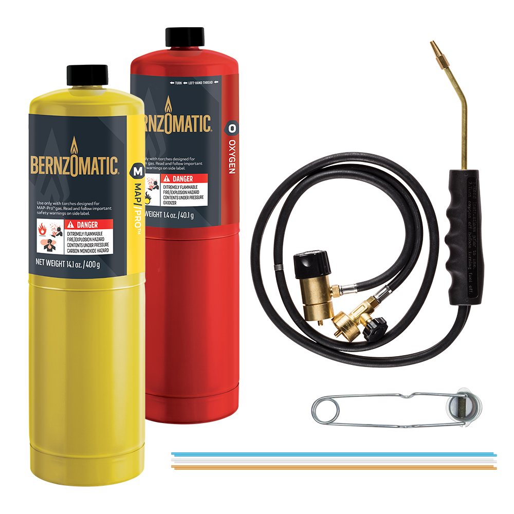 Hand Torches Torch Kits Bernzomatic Oxy Acetylene Welding Equipment Diagram Brazing Kit