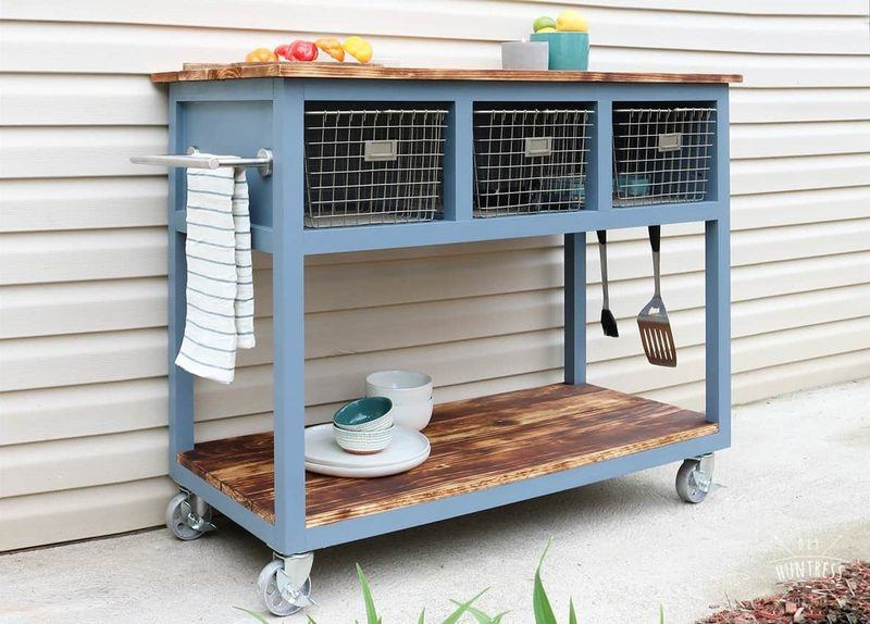 Mobile Island/Grill Cart