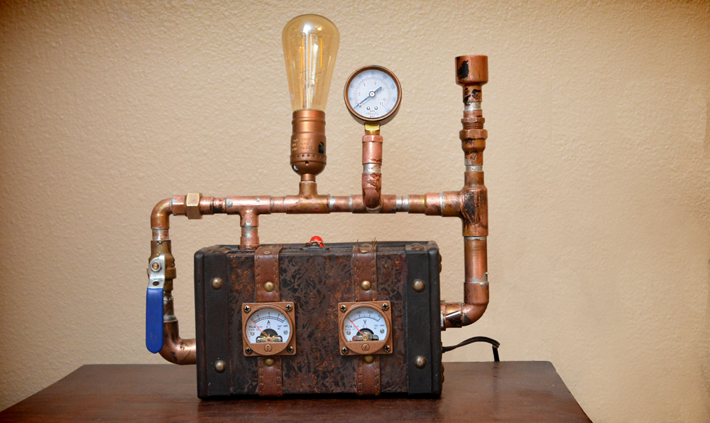 Steampunk Mini Lamp
