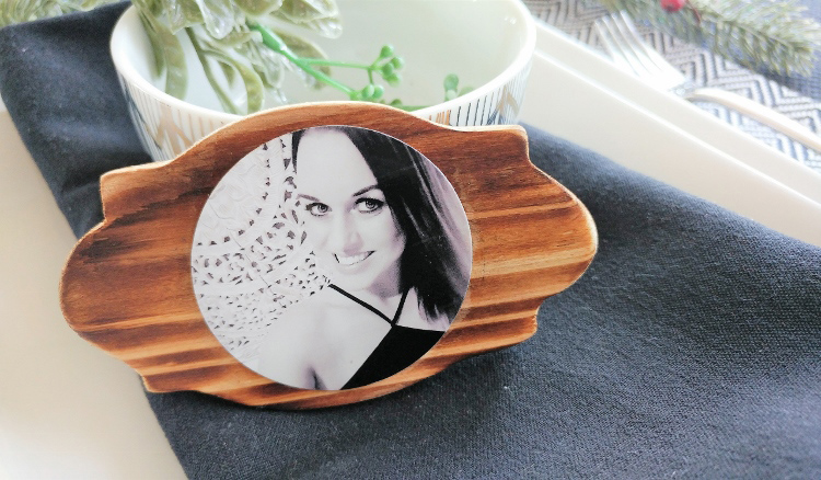 Wood Burned Table Placecards