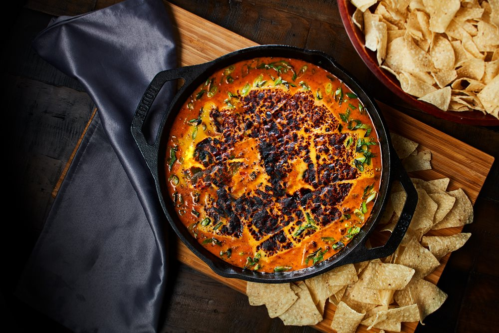 Latin Hamburger Queso Dip