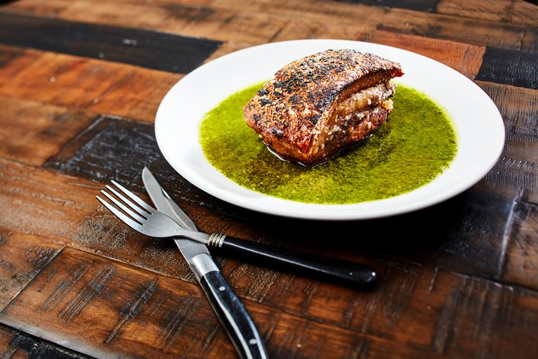 Chimichurri Pork Belly
