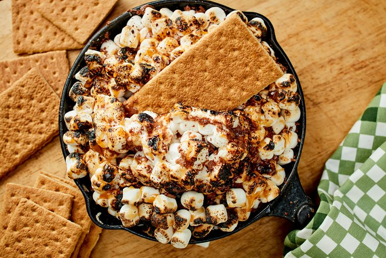 Torched S'mores Dip
