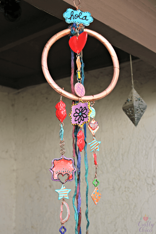 Complete windchime