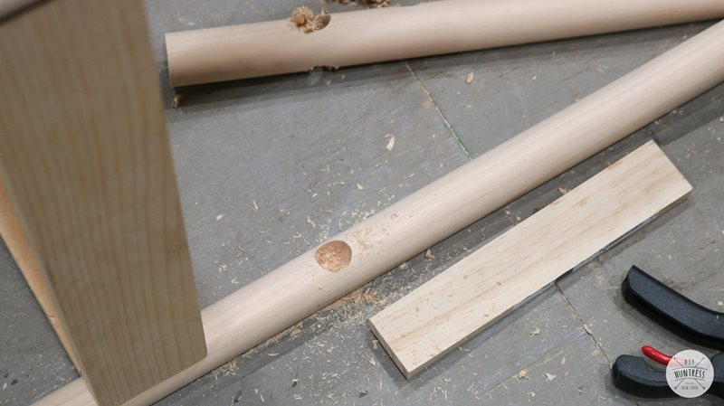 Drilled dowels