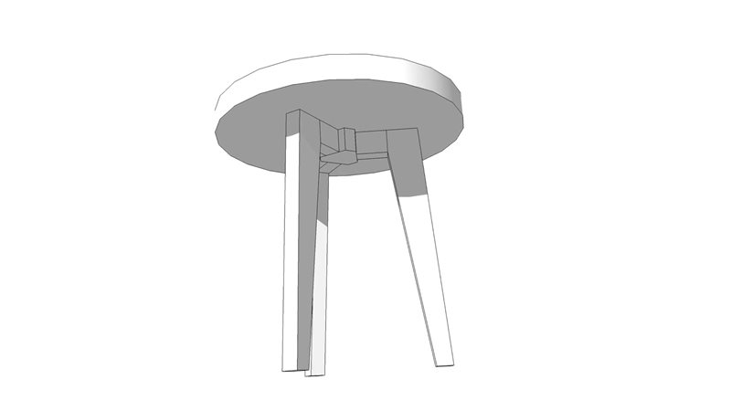 Table leg diagram